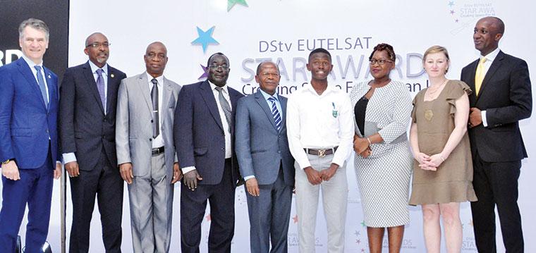 Ntare School student wins DStv Eutelsat Star award
