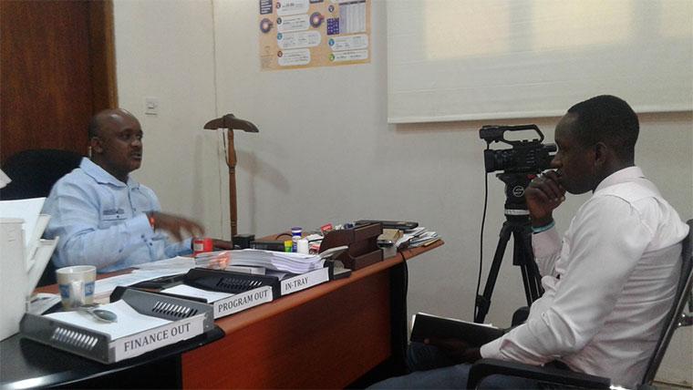 CSBAG executive director, Julius Mukunda