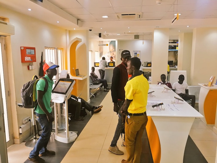 Registration for MTN marathon in Gulu