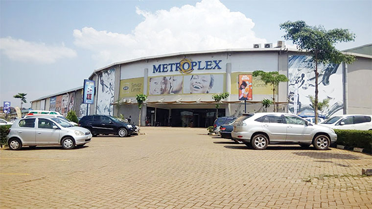 Metroplex shopping mall in Naalya struggled to attract clients