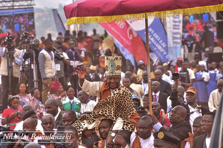 Buganda king Ronald Muwenda Mutebi