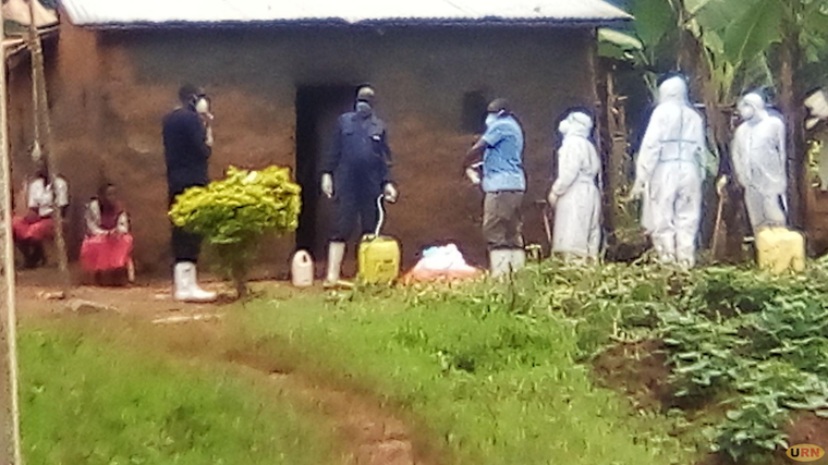 The Safe and Dignified Burial team at Chamatala's home last week
