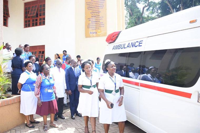 Mengo hospital has offered free ambulance services during the Cancer Run