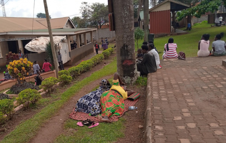 Patients stranded at Mukono hospital
