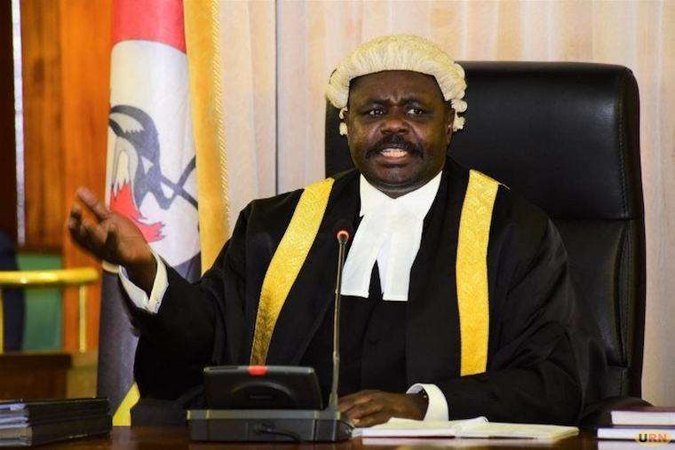 Deputy speaker of parliament Jacob Oulanyah