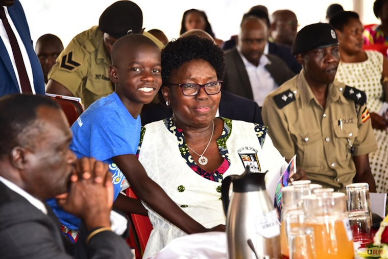 File - Speaker Rebecca Kadaga at a recent event