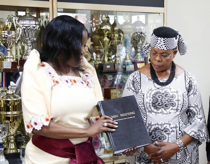 Jennifer Musisi handed office as KCCA executive director
