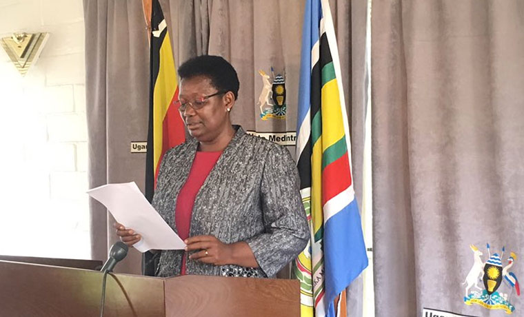 Minister for Presidency, Esther Mbayo
