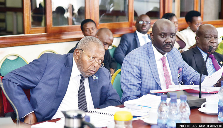BOU governor Emmanuel Tumusiime Mutebile before Cosase earlier