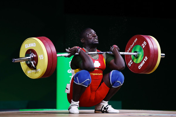 eightlifter Kalidi Batuusa was one of the athletes who vanished in Australia