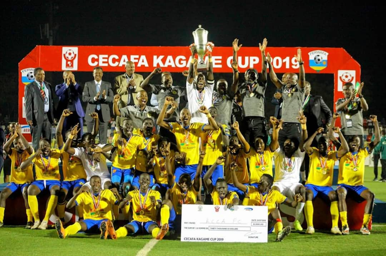 KCCA lifted the Cecafa Kagame Cup