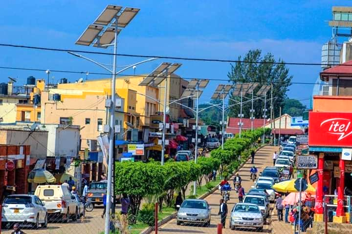 FILE PHOTO A street in Fort Portal Tourism city