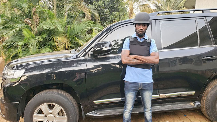 Court ruled that Bobi Wine must surrender his car for reexamination